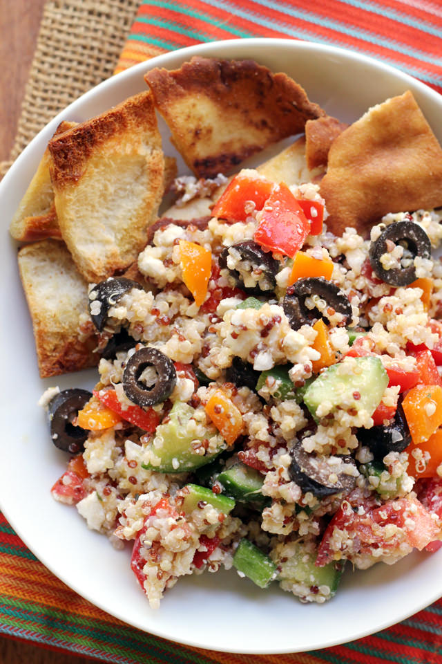 Greek Super Grains Salad from Eats Well With Others