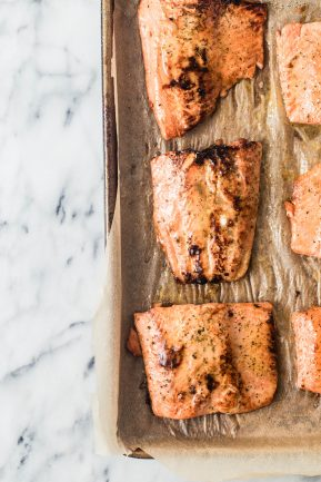 Glazed bourbon orange salmon | Eat Good 4 Life