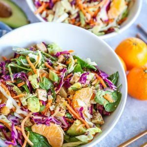 Paleo Chinese Chicken Salad - soy-free, refined sugar-free, nutritious and filling   TheRoastedRoot.net
