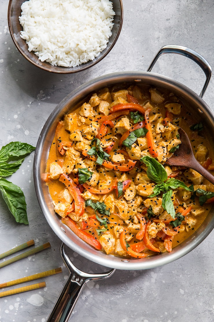 Paleo Panang Curry - a quick and easy recipe for Thai curry | TheRoastedRoot.net