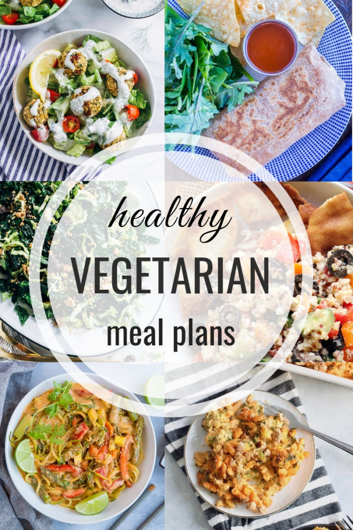 Healthy Vegetarian Meal Plan 05.26.2019
