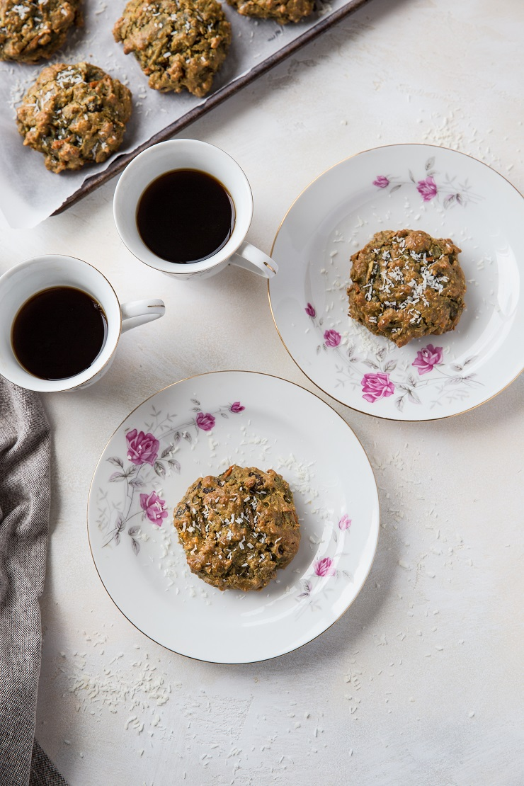 Paleo Morning Glory Cookies - grain-free, refined sugar-free, dairy-free cookies that are healthy enough to eat for breakfast | TheRoastedRoot.net