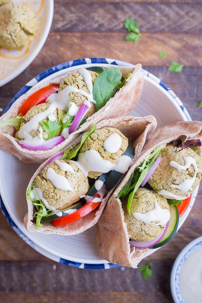 Easy Homemade Falafel from She Likes Food