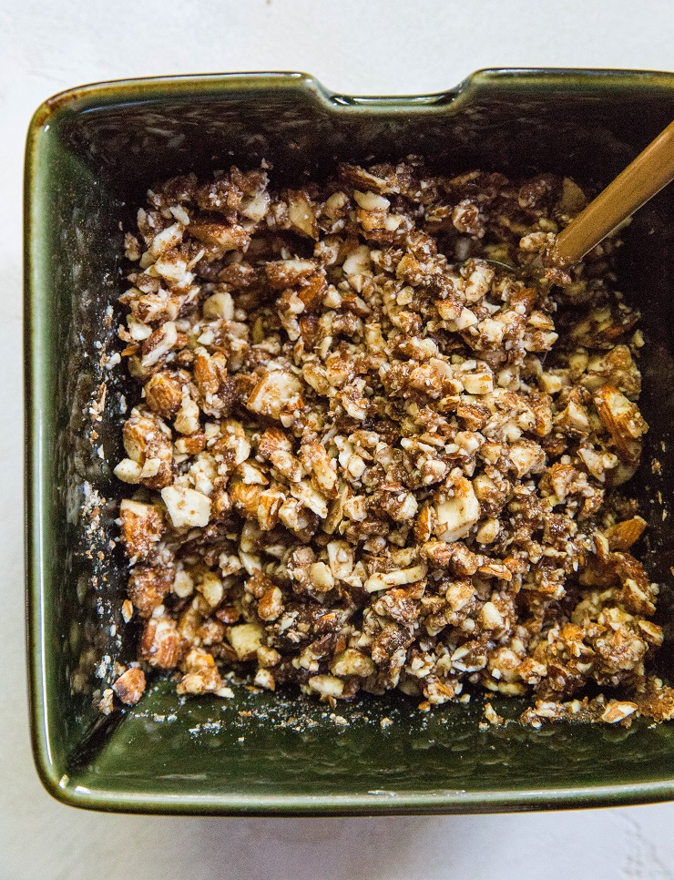 almond streusel topping for paleo coffee cake