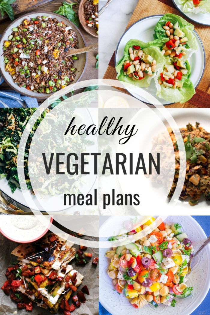 Healthy Vegetarian Meal Plan 08.18.2019