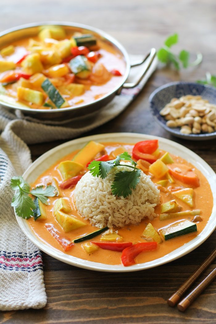 30-Minute Summer Vegetable Red Curry from The Roasted Root