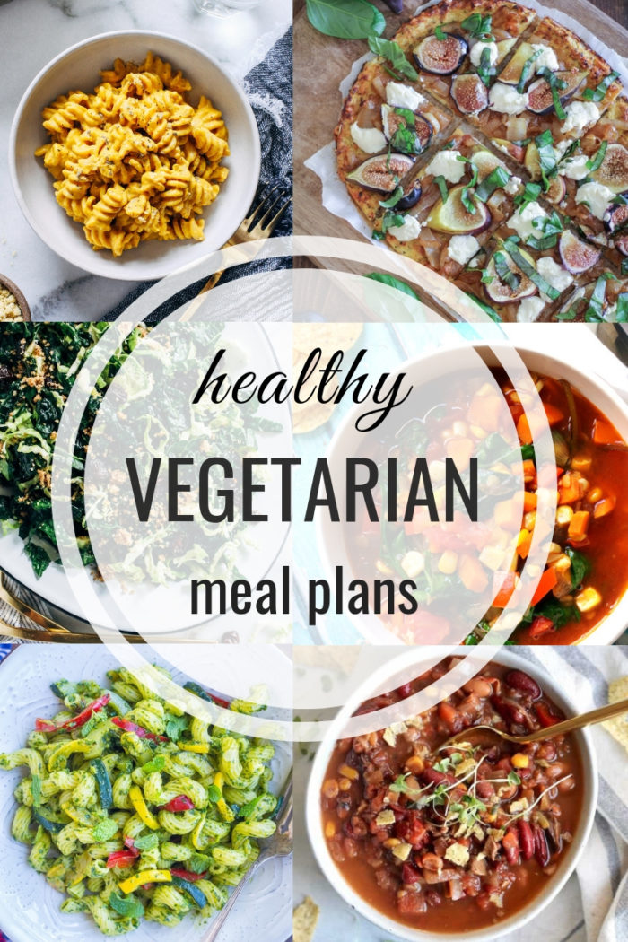 Healthy Vegetarian Meal Plan 09.15.2019