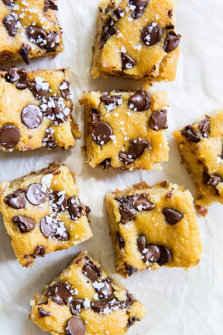 Grain-Free Garbanzo Bean Brownies made with cashew butter and pure maple syrup. A healthy gluten-free dessert recipe | TheRoastedRoot.net