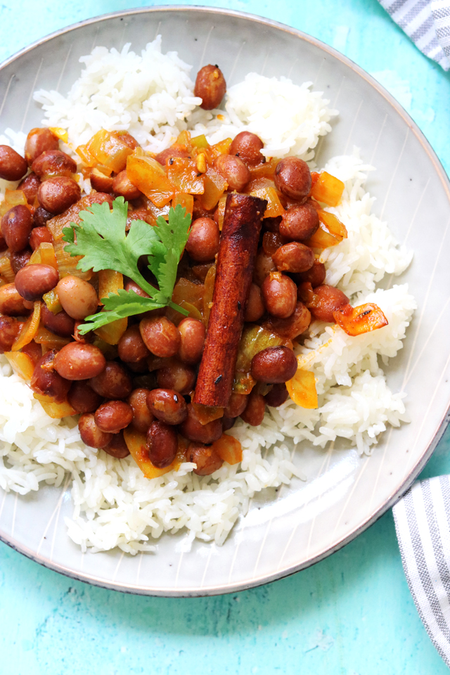 Easy Weeknight Kidney Bean Curry from Eats Well With Others