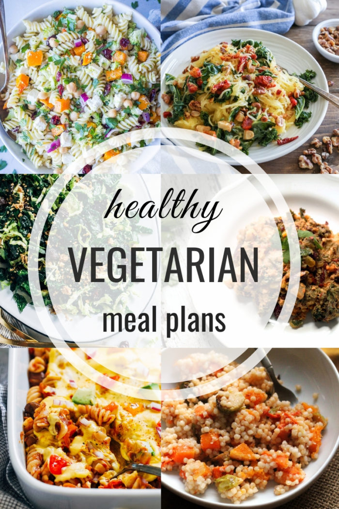 Healthy Vegetarian Meal Plan 11.17.2019
