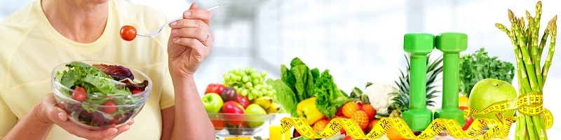 good, healthy diet, and regular exercises